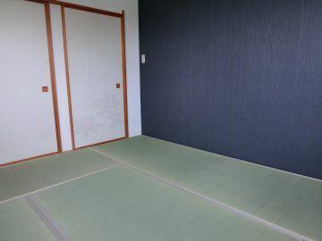 松戸市六高台 S様邸 トータルコーディネート(畳・襖・クロス) 施工後