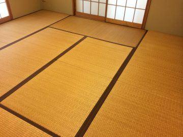 野田市山崎 T様邸 ヘリ無し畳 カラー畳 新畳入れ替え 施工前