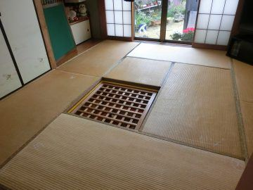 鎌ケ谷市軽井沢 K様邸 表替え 施工前