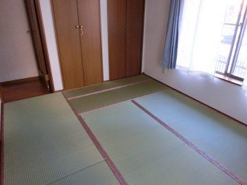 松戸市岩瀬 U様邸 置き畳 無染土表使用 施工後