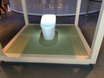 日本科学未来館 「トイレ展」 施工後