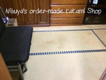 柏市しいの木台 I様邸 ペット用畳 表替え 施工前