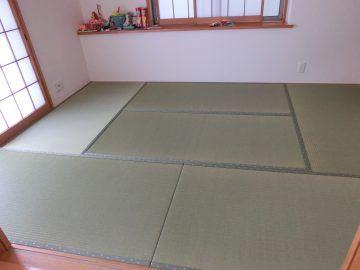 柏市東 M様邸 ケナフ畳床使用 新畳入替え 施工後