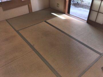 柏市西原 K様邸 わら床使用 新畳入替え 施工前