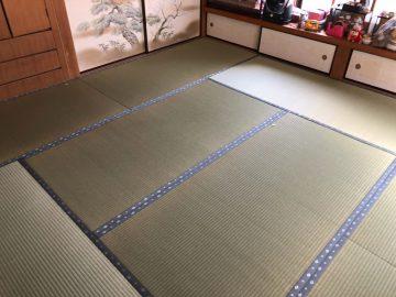 松戸市五香 K様邸 無染土表使用 新畳入れ替え 施工後