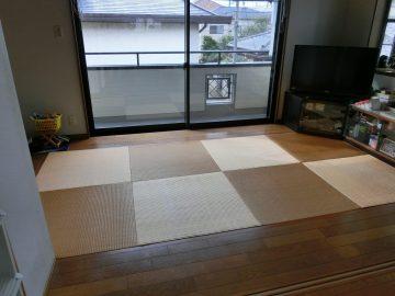 松戸市五香 K様邸 ヘリ無し畳からヘリ付き畳へ表替え 施工前