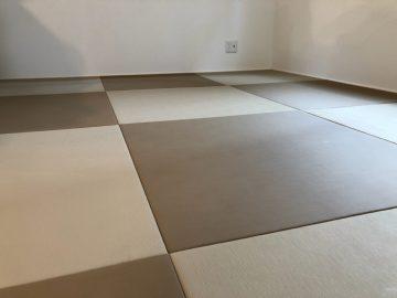 鎌ヶ谷市東鎌ヶ谷  H様邸  ヘリ無し畳からペット用畳へ表替え 施工後